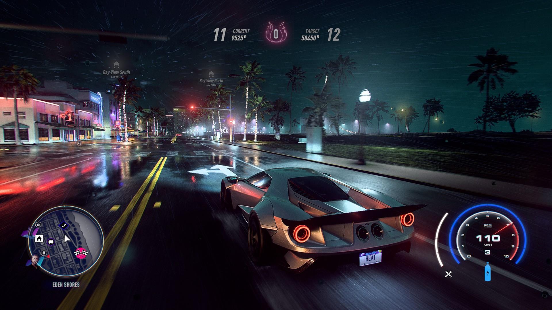 Скриншот 0 - Need for Speed: Heat Deluxe [Оффлайн активация] MULTI12